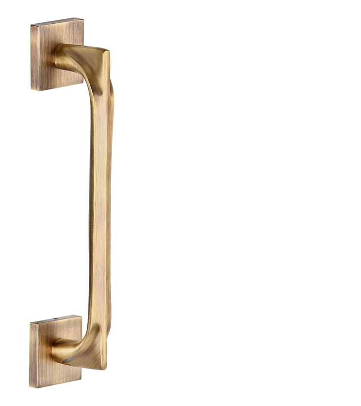 Stylish pull handle and lock for glass door, wooden doors, cabinets and wardrobe for apartments