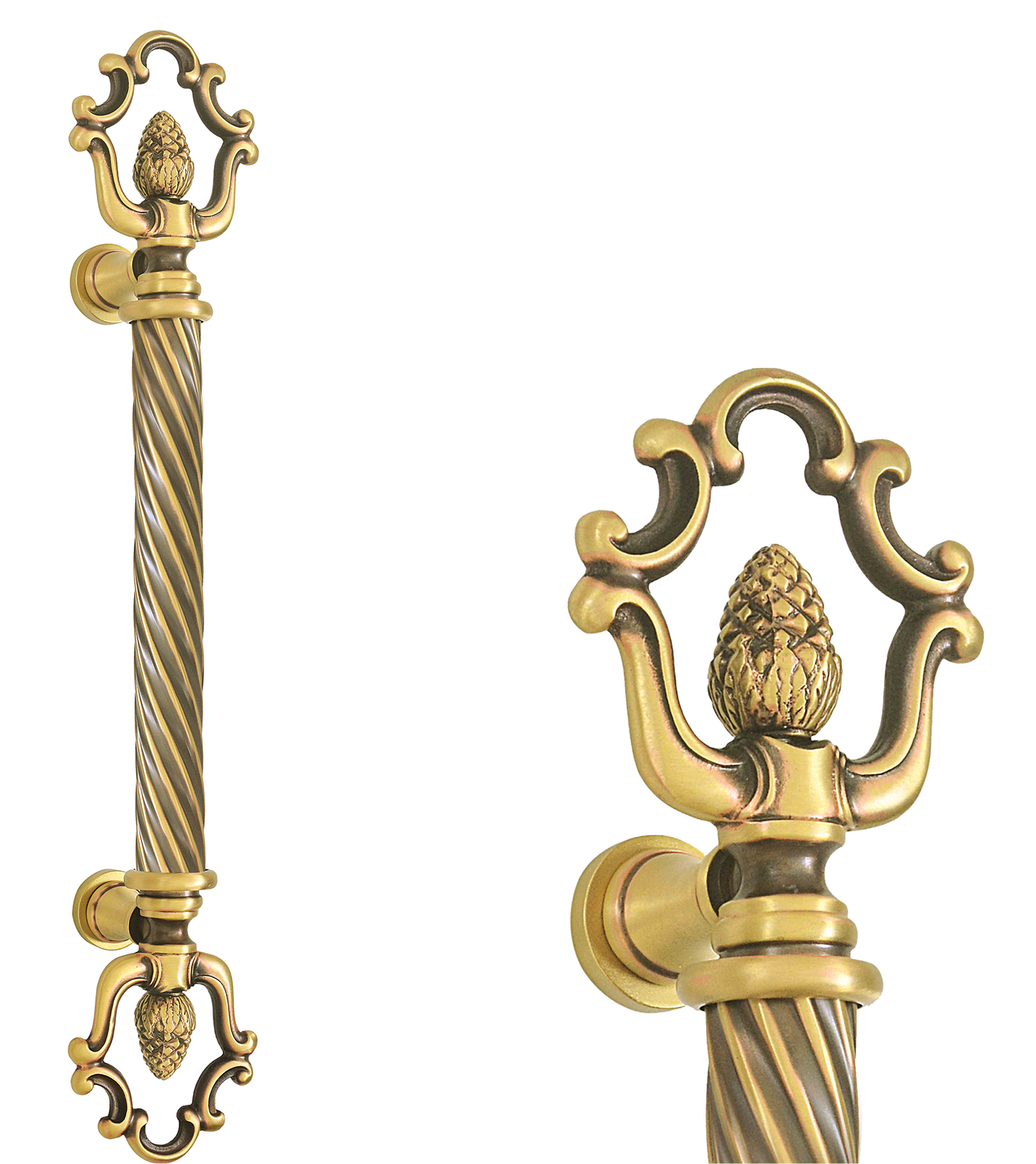 Italian main door pull handle and locks for glass and wooden doors  for apartments