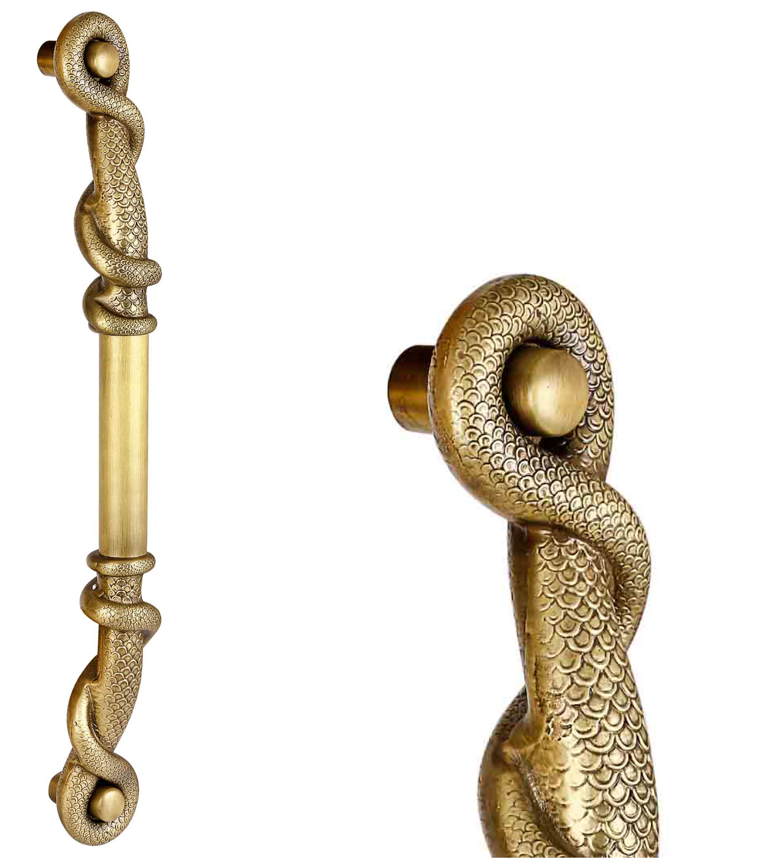 Baroque main door pull handle and locks for glass and wooden doors  for homes