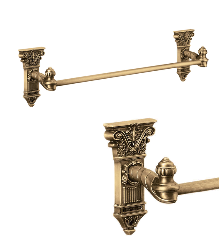 Beautiful towel rack with single rod and 4 rod as per utility and size for bathroom and powder room for houses
