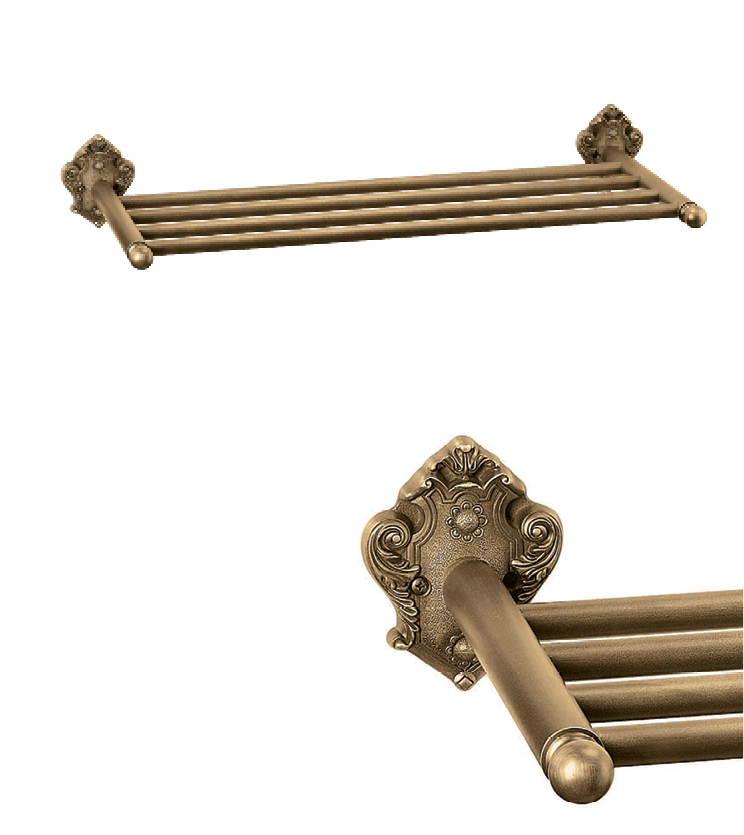 Big towel rack with single rod and 4 rod as per utility and size for bathroom and powder room for houses