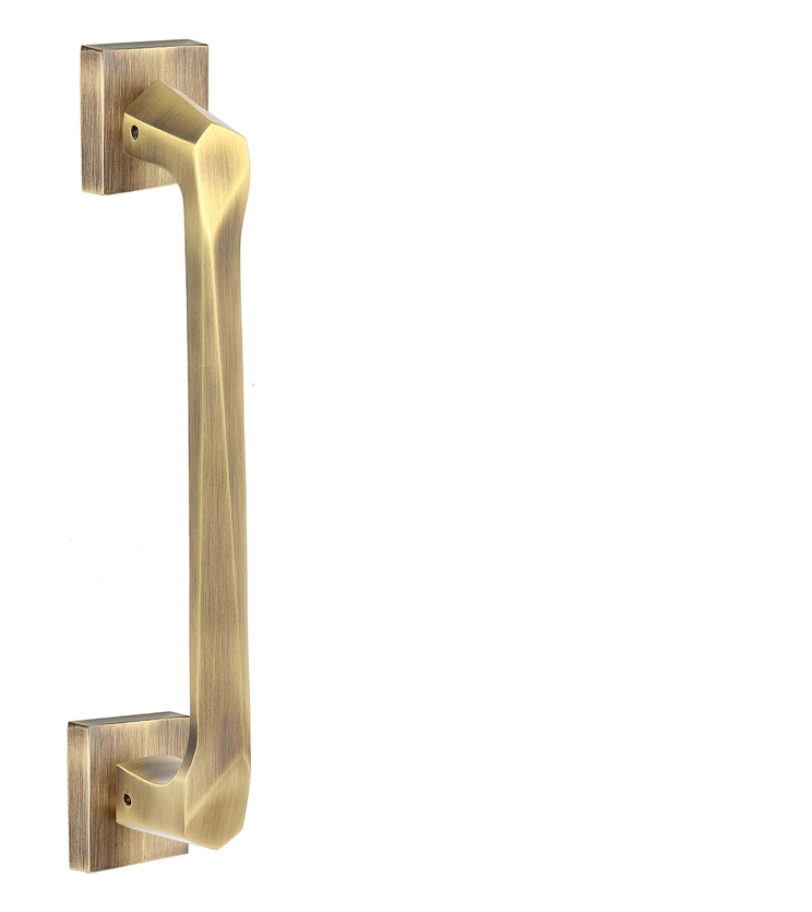 Black, gold, silver and rose gold pull handle and lock for glass door, wooden doors, cabinets and wardrobe for restaurants