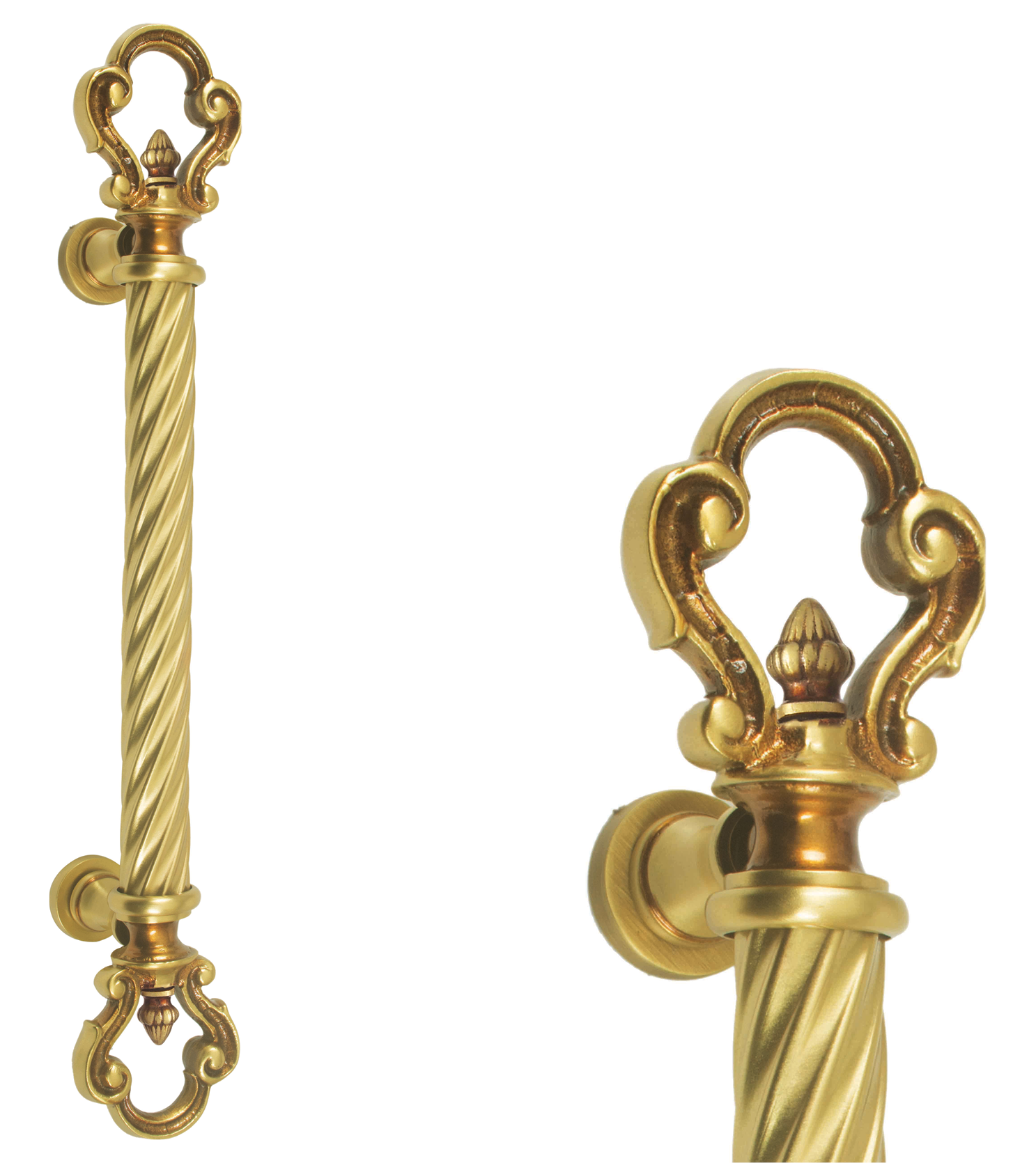 Classic main door pull handle and locks for glass and wooden doors  for chateaus