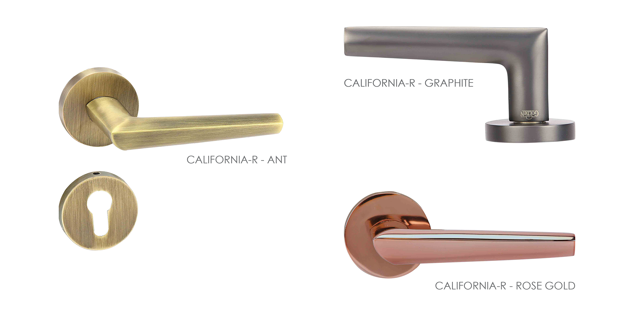 Customised Mortise Door Handle & Lock On Rosette For Apartments