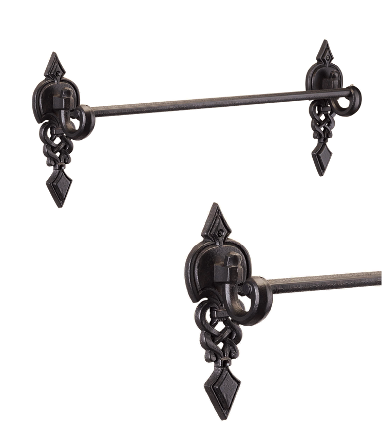 Customized towel rack with single rod and 4 rod as per utility and size for bathroom and powder room for homes