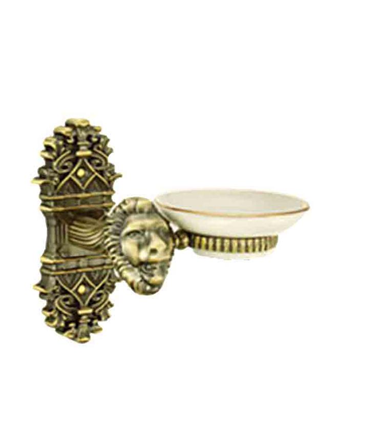 Designer soap dish holder for bathroom and powder room for resorts