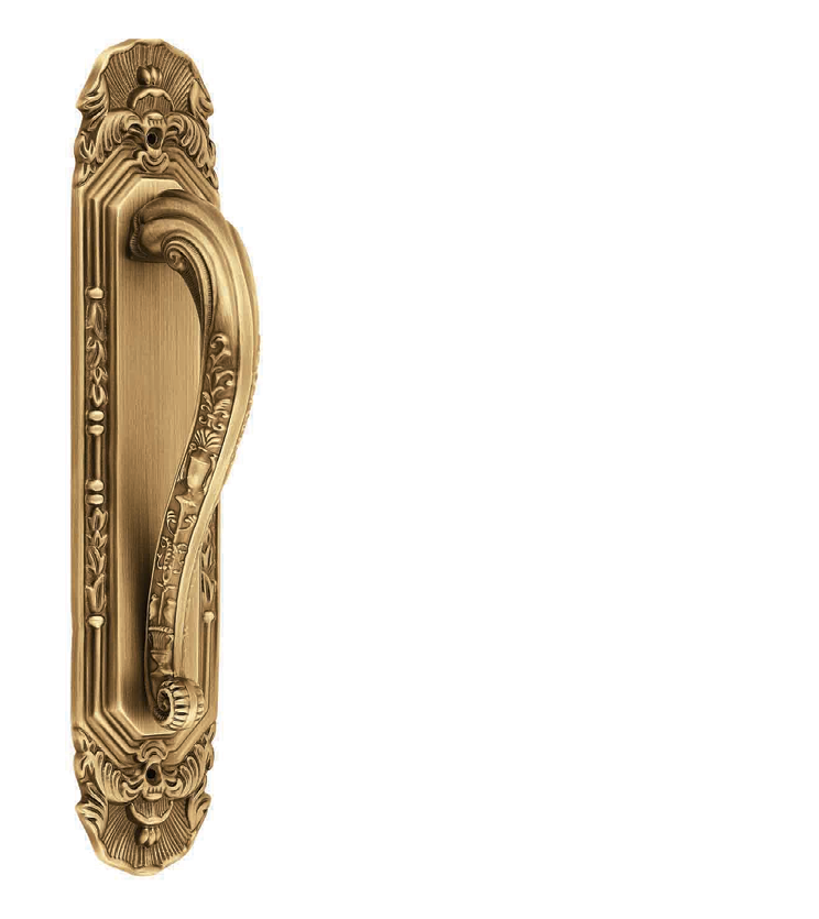 Italian pull handle and lock for glass door, wooden doors, cabinets and wardrobe for bungalows